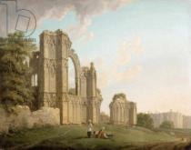Michael Rooker - St Mary's Abbey, York, c.1778