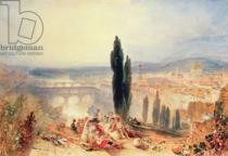 Joseph Mallord William Turner - Florence from near San Miniato, 1828
