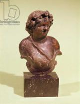 Roman - Bust of Bacchus, ornament from a bed