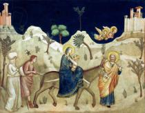Giotto di Bondone - The Flight into Egypt