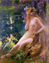 Gaston Bussiere - Water Nymph