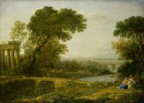 Claude Lorrain - The Rest on the Flight into Egypt