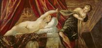 Jacopo Robusti Tintoretto - Joseph and the Wife of Potiphar