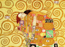 Gustav Klimt - Detail of Fulfilment  c.1905-09