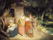Francis Wheatley - Outside the Cottage Door