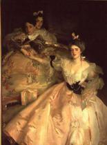 John Singer Sargent - Mrs. Carl Meyer, later Lady Meyer, and her two Children, 1896