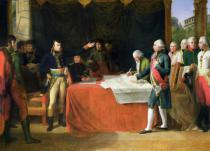 Guillaume Guillon Lethière - Preliminaries of the Peace Signed at Leoben, 17th April 1797, 1805