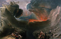 John Martin - The Great Day of His Wrath, engraved by Charles Mottram (1807-76), published by Thomas McLean, London in 1857