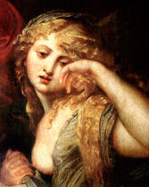 Peter Paul Rubens - Mary Magdalene, detail from The Deposition, 1602