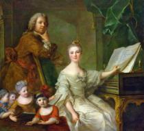Jean-Marc Nattier - The Artist and his Family, 1730-62