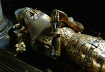 Unbekannt - Edward the Black Prince (1330-76): effigy in Canterbury Cathedral