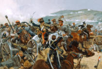 Richard Caton Woodville - The Relief of the Light Brigade, 25th October 1854, 1897
