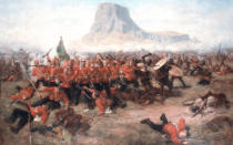 Charles Edwin Fripp - The Battle of Isandlwana: The Last Stand of the 24th Regiment of Foot  during the Zulu War, 22nd January 1879, c.1885