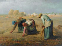 Jean-François Millet - The Gleaners, 1857