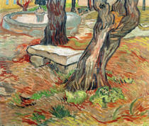Vincent van Gogh - The Bench at Saint-Remy, 1889