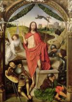 Hans Memling - The Resurrection, central panel from the Triptych of the Resurrection, c.1485-90