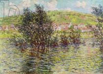 Claude Monet - Vetheuil, View from Lavacourt, 1879