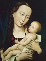 Rogier van der Weyden - The Virgin and Child, 1455
