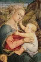 Fra Filippo Lippi - Virgin and Child, c.1465