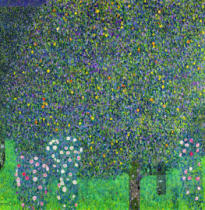 Gustav Klimt - Roses under the Trees, c.1905
