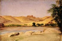 Lord Frederick Leighton - View on the Nile, c.1879