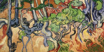 Vincent van Gogh - Tree roots, 1890