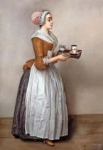 Jean-Etienne Liotard - The chocolate girl / variant