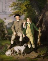 Francis Wheatley - Portrait of a Sportsman with his Son, 1779