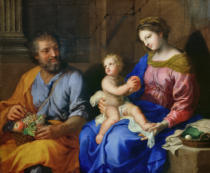Jacques Stella - The Holy Family