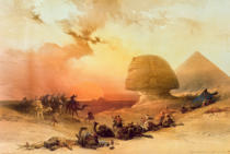 David Roberts - The Sphinx at Giza