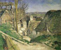 Paul Cézanne - The House of the Hanged Man, Auvers-sur-Oise, 1873