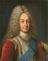 Russian School - Portrait of Prince Vasily Lukich Dolgorukov, first half of 18th century