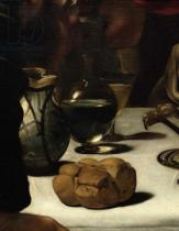 Michelangelo Merisi Caravaggio - Detail of The Supper at Emmaus, 1601