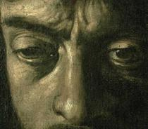 Michelangelo Merisi da Caravaggio - Detail of David with the Head of Goliath, 1606