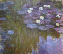 Claude Monet - Waterlilies, 1919-20