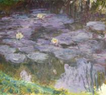 Claude Monet - Waterlilies, 1917