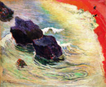 Paul Gauguin - The Wave, 1888