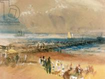 Joseph Mallord William Turner - Boats at Margate Pier