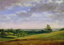 John Constable - View from Highgate Hill