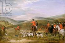 Francis Calcraft Turner - The Berkeley Hunt, 1842: The Meet