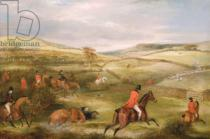 Francis Calcraft Turner - The Berkeley Hunt, 1842: The Chase