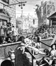 William Hogarth - Gin Lane, 1751
