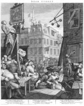 William Hogarth - Beer Street, 1751