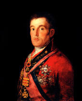 Francisco Jose de Goya y Lucientes - The Duke of Wellington (1769-1852) 1812-14