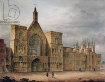 John Coney - Entrance to Westminster Hall, 1807
