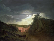 Joseph Wright of Derby - Arkwright's Cotton Mills, 1790s