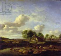 Adriaen van de Velde - The Little Farm, 1661