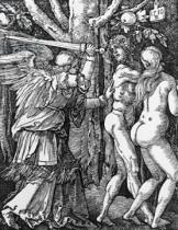 Albrecht Dürer - The Expulsion from Paradise, 1510