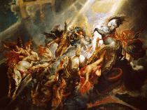 Peter Paul Rubens - The Fall of Phaeton c.1604-08