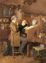 Charles Green - Grocer and wife, 1868